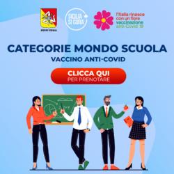 Avvio del Piano di vaccinazione contro SARS-CoV-2/COVID-19 per il personale delle scuole in Sicilia