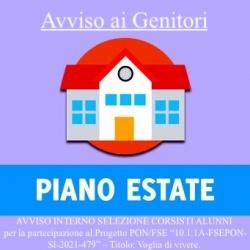 Piano Estate PON